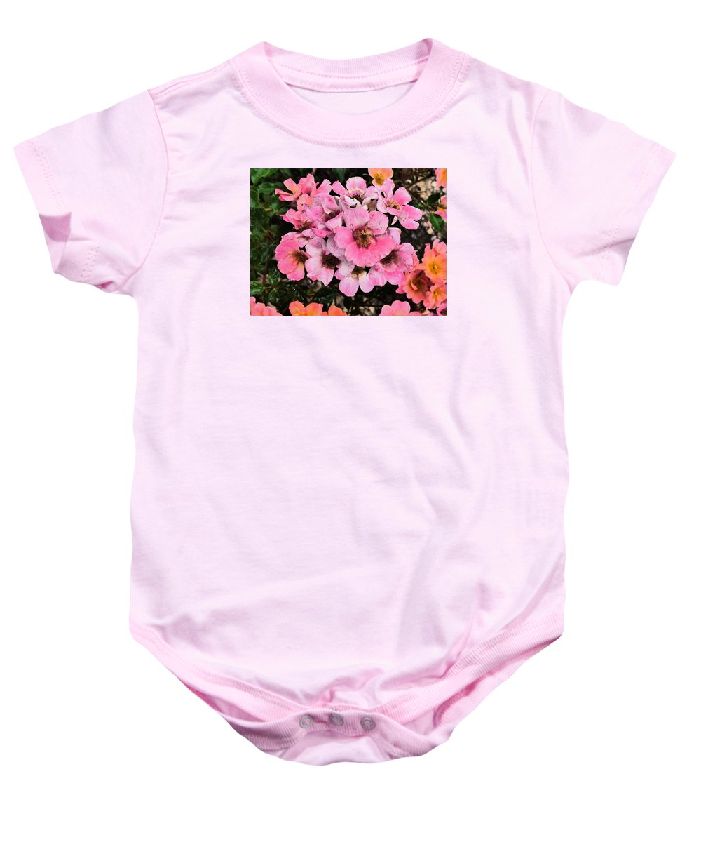 Paul Stanner Baby Onesie featuring the photograph Rhythmn Of The Rain by Paul Stanner