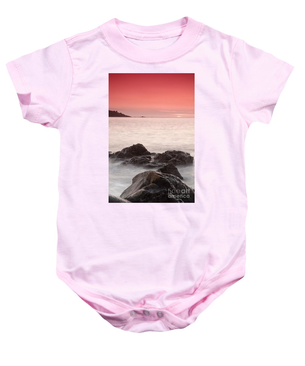 Fine Art- St Ives At Sunset By Phill Potter Baby Onesie featuring the photograph Fine Art- St Ives At Sunset By Phill Potter by Jenny Potter