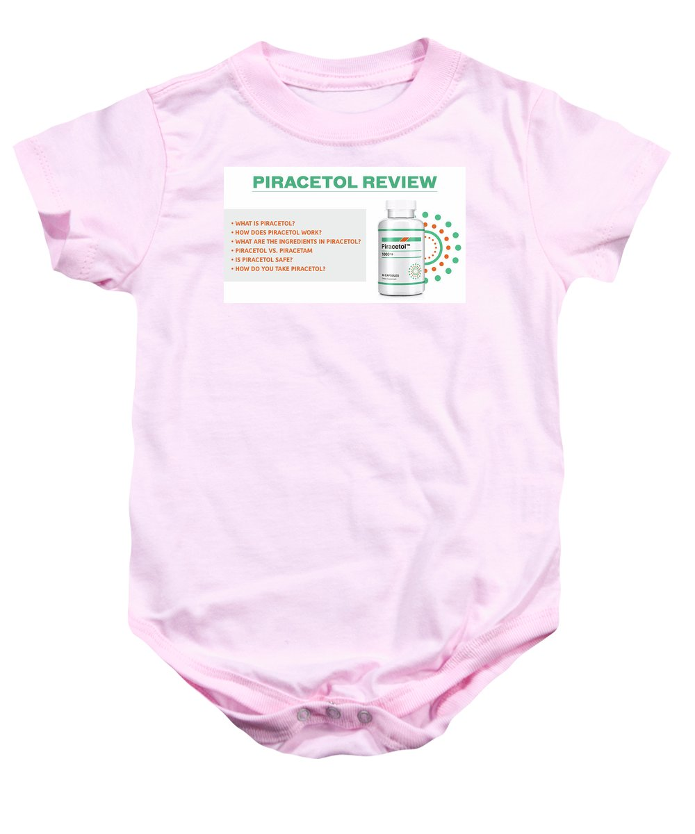 Piracetol Baby Onesie featuring the digital art Piracetol by Piracetol
