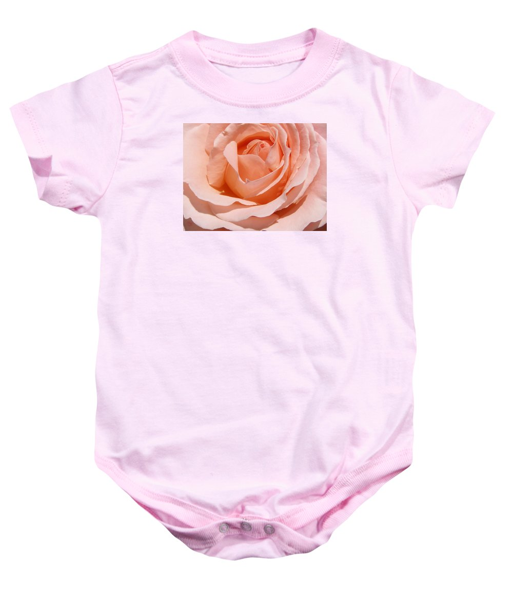 Flower Baby Onesie featuring the photograph A Rose Is A Rose By Any Name .... by Larry Lacy