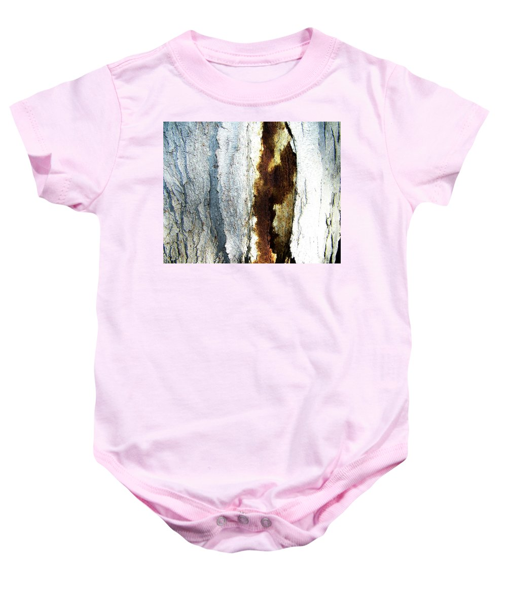 Abstract Baby Onesie featuring the photograph Abstract One by Lenore Senior