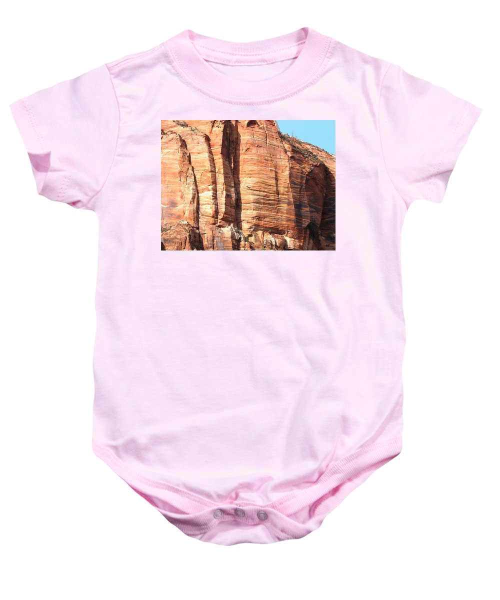 An Eagle Soars Baby Onesie featuring the photograph An Eagle Soars by Will Borden