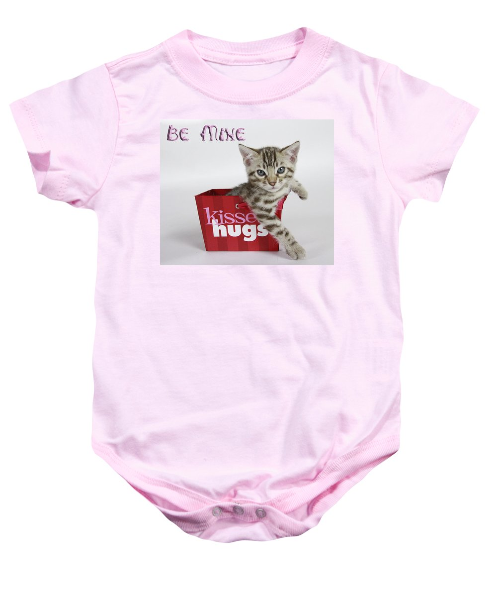 Bengal Baby Onesie featuring the photograph Be Mine by Shoal Hollingsworth