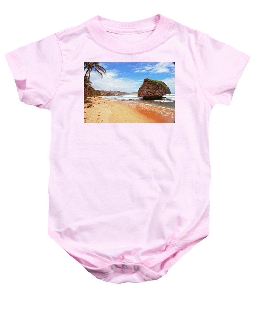 Beach Baby Onesie featuring the photograph Beach Wonders by Gary Wonning