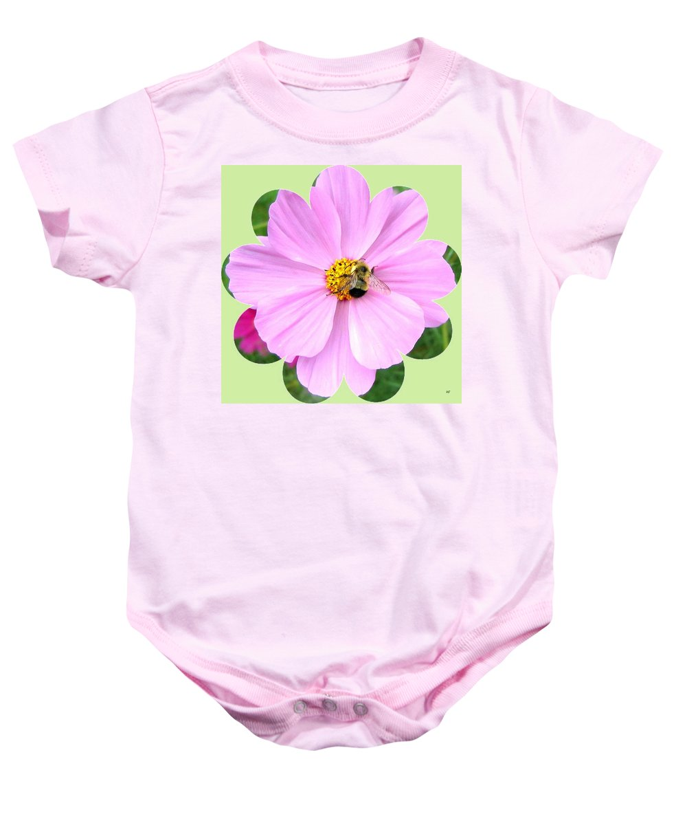 Photo Design Baby Onesie featuring the photograph Bee-line 1 by Will Borden