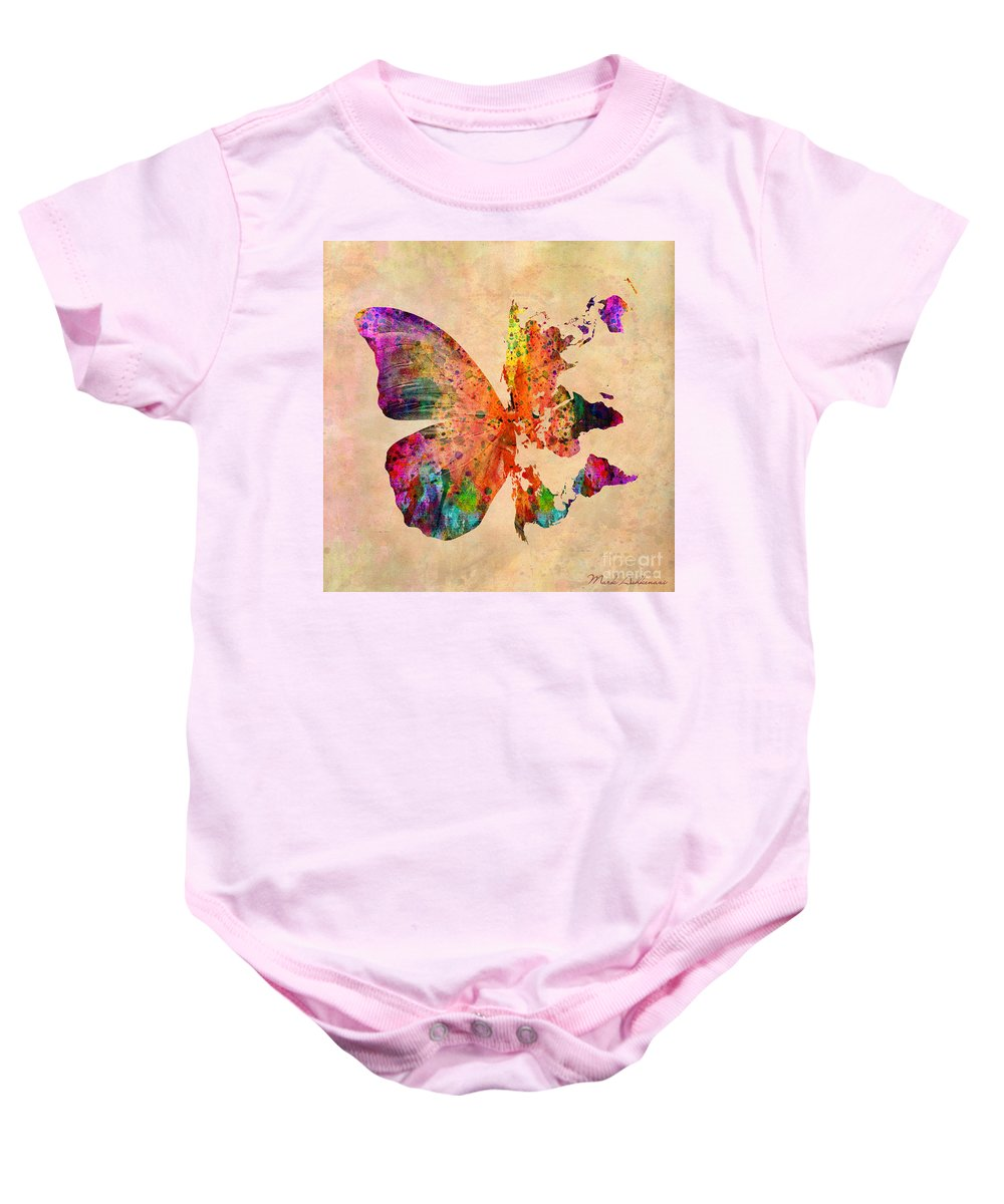 Butterfly World Map Onesie For Sale By Mark Ashkenazi