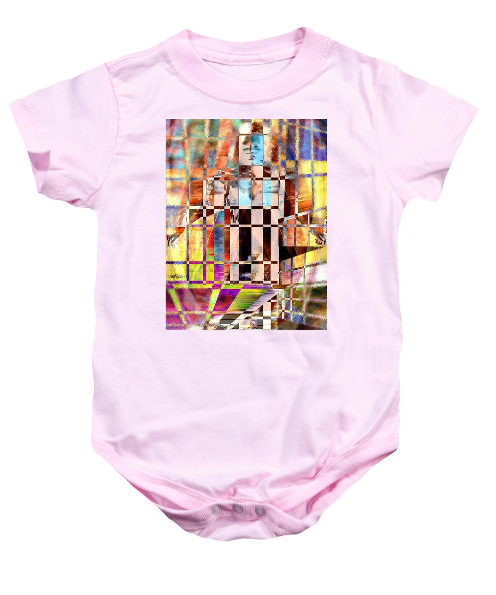 Abstract Baby Onesie featuring the photograph Captivia by Seth Weaver