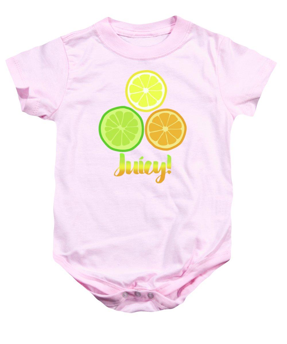 Juicy Fruit Baby Onesies