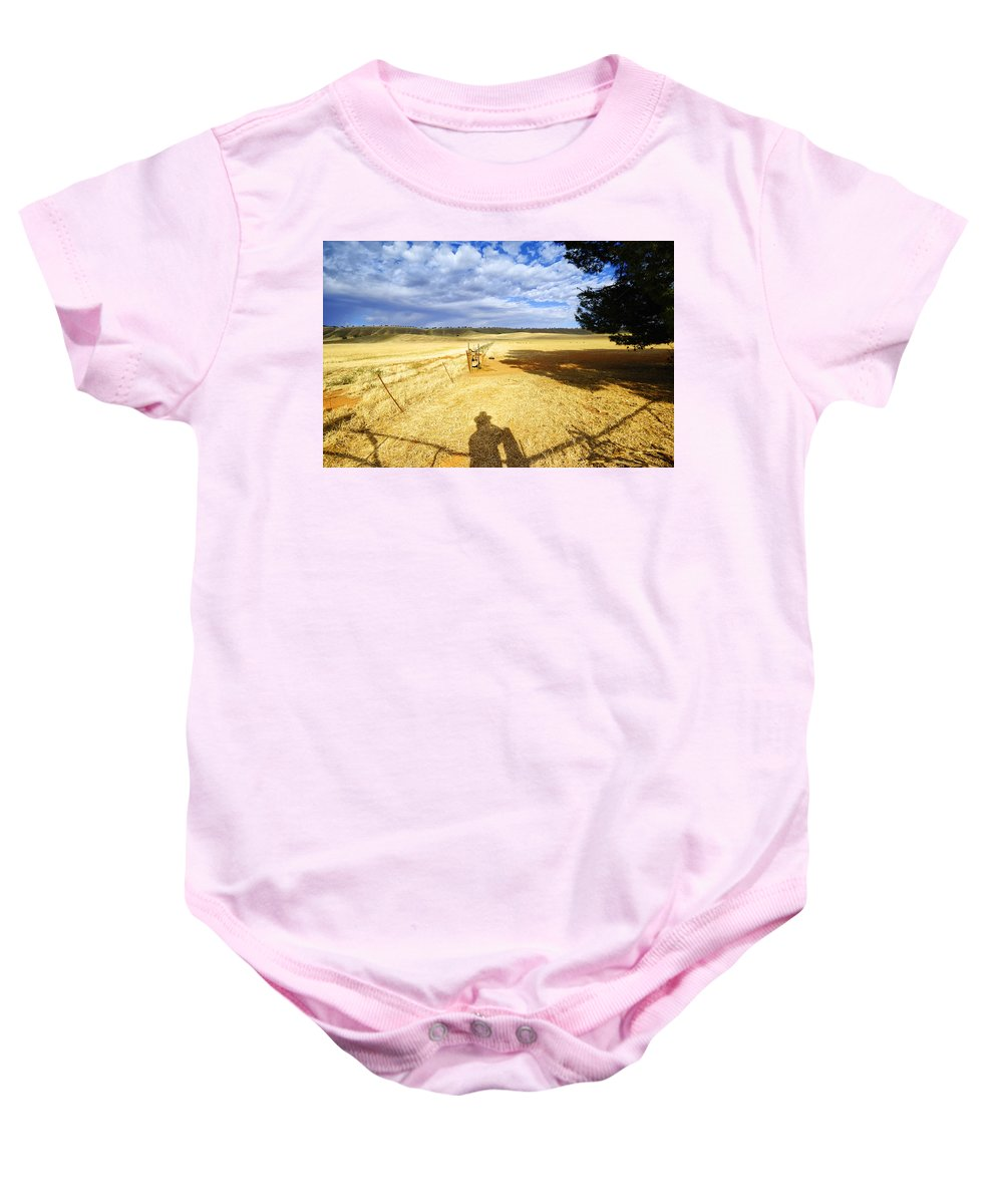 Landscape Baby Onesie featuring the photograph Day Dreaming by Wayne Sherriff