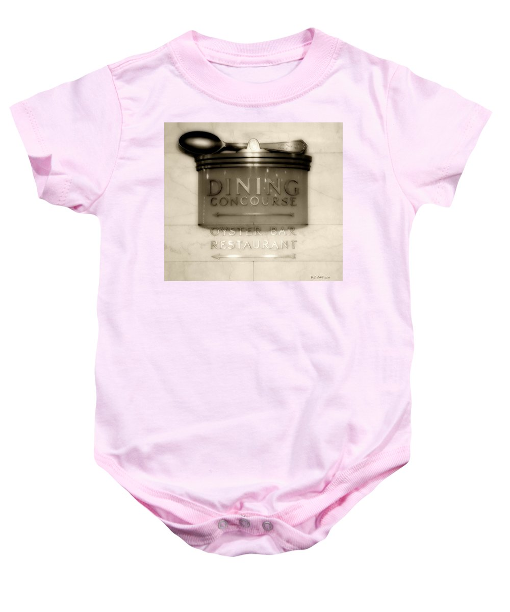 Art Deco Baby Onesie featuring the photograph Directions In Deco by RC DeWinter