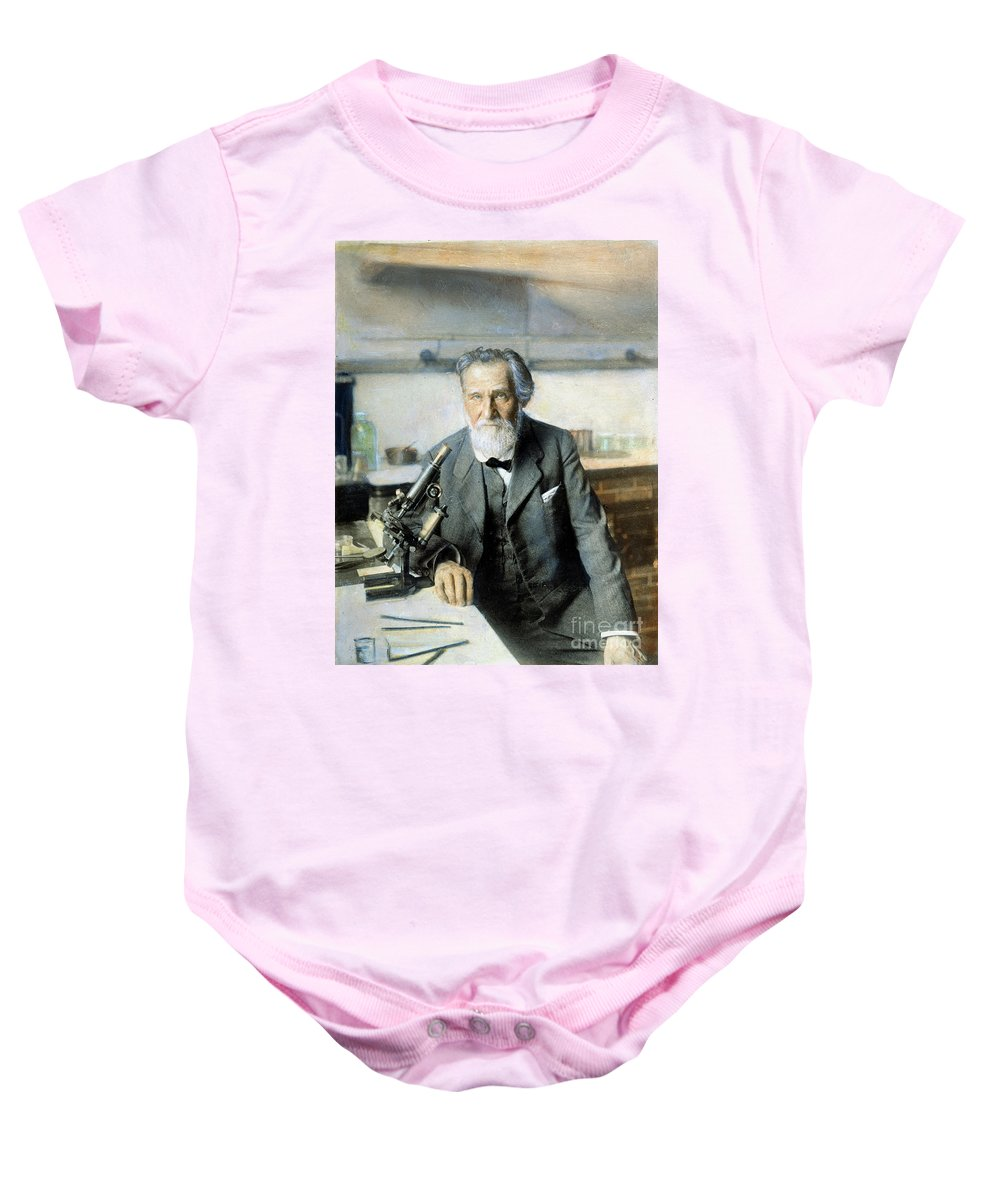 20th Century Baby Onesie featuring the photograph Elie Metchnikoff (1845-1916) by Granger