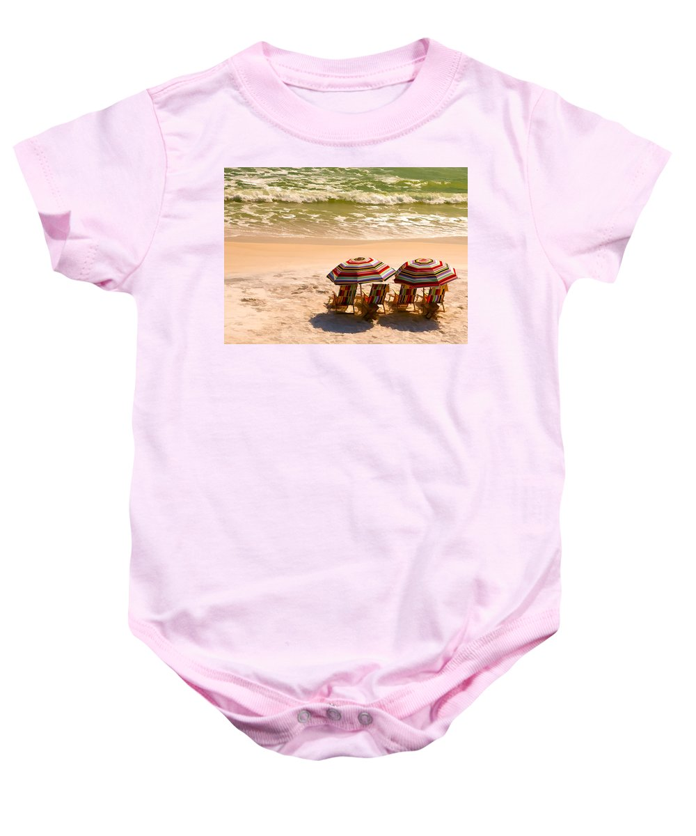 Alys Beach Baby Onesie featuring the photograph Escape by Janet Fikar