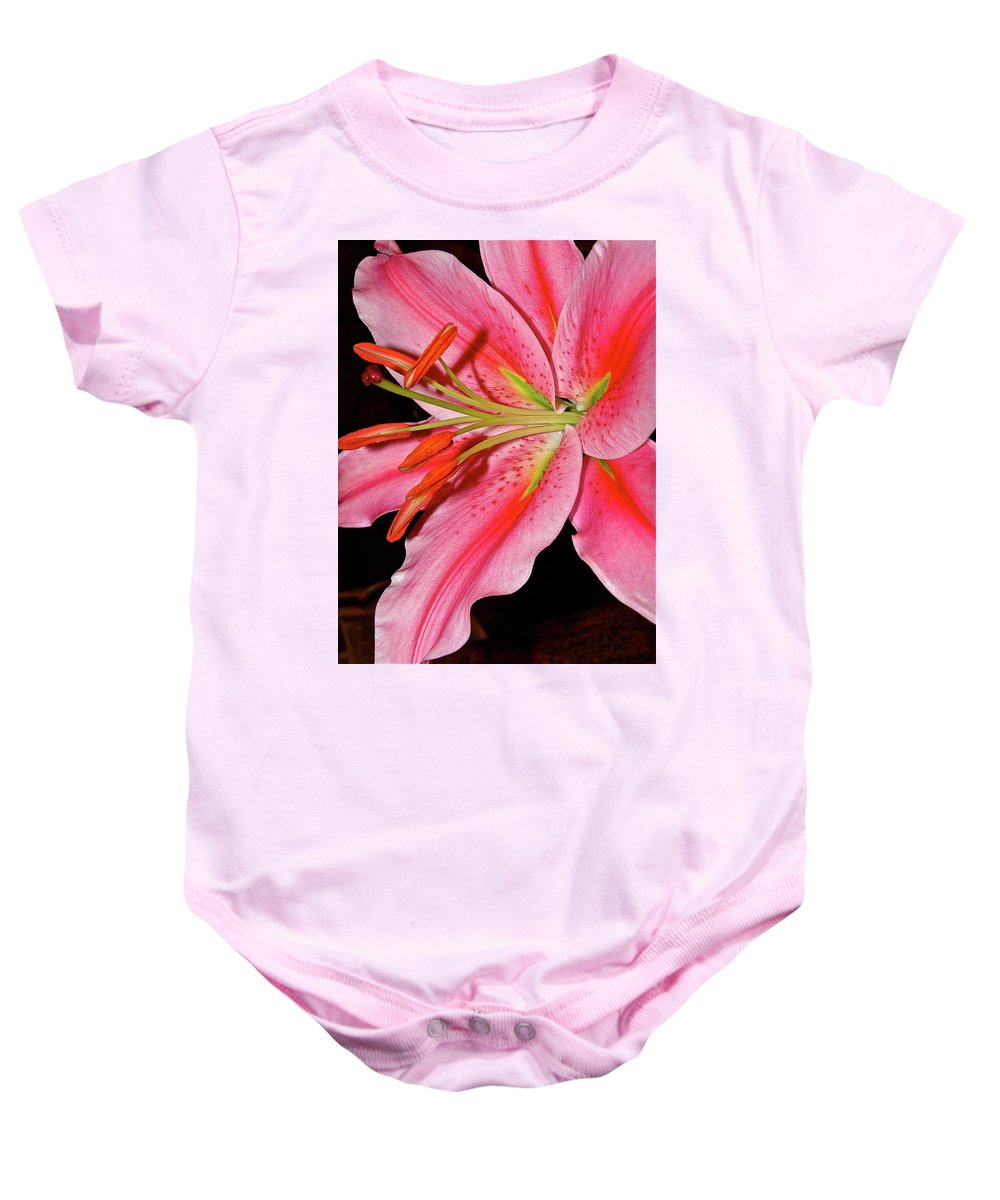 Flowers Baby Onesie featuring the photograph For Mom by Diana Hatcher