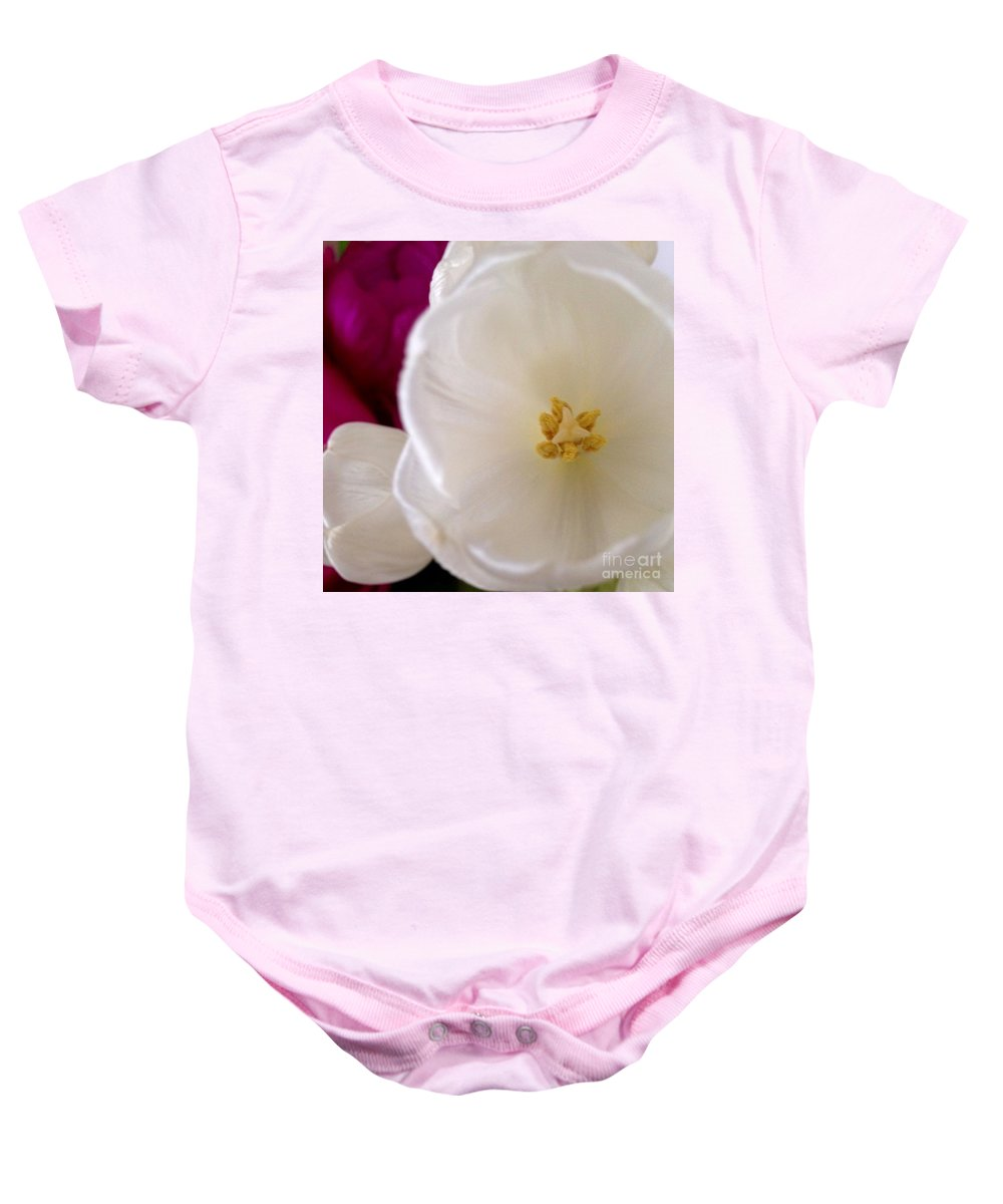 Flowers Baby Onesie featuring the photograph Friendship by Denise Railey