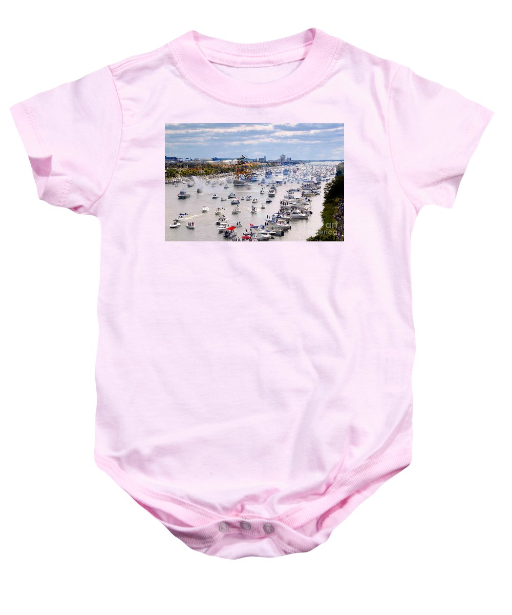 Jose Gasparilla Baby Onesie featuring the photograph Gaspar by David Lee Thompson