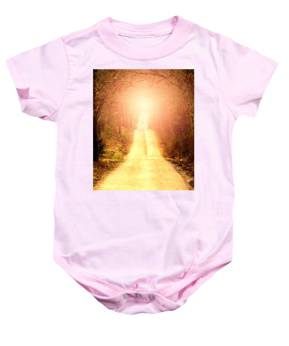 Country Baby Onesie featuring the digital art Going Home by Bill Stephens