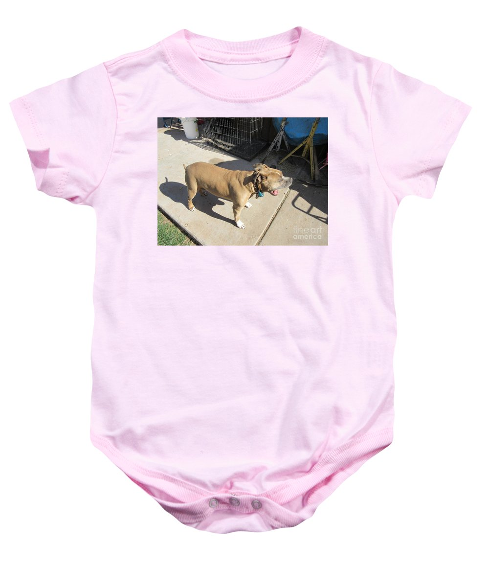 Haley Baby Onesie featuring the photograph Haley by Frederick Holiday
