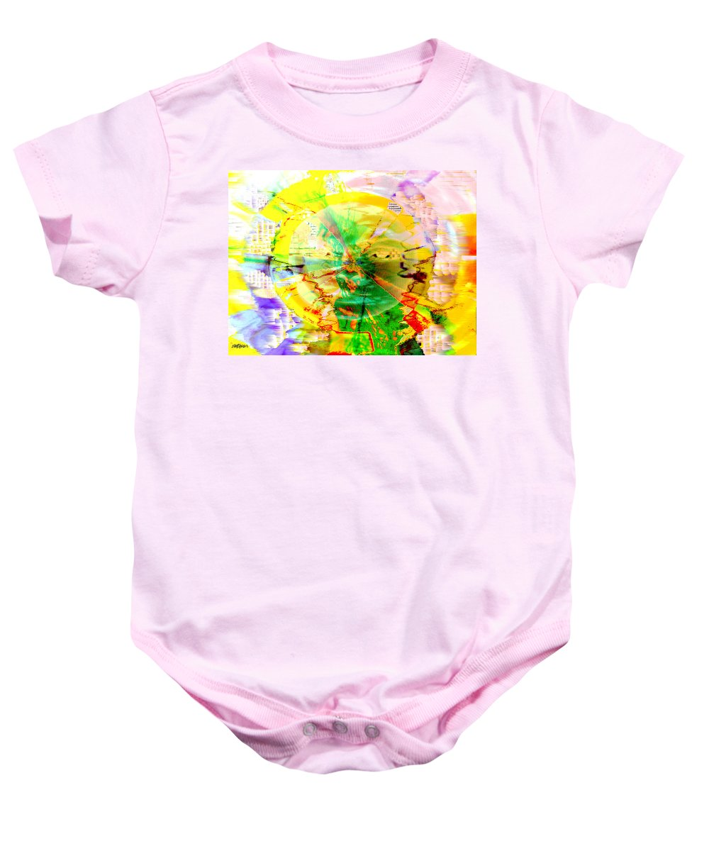 Beatles Baby Onesie featuring the photograph Here Comes The Sun by Seth Weaver