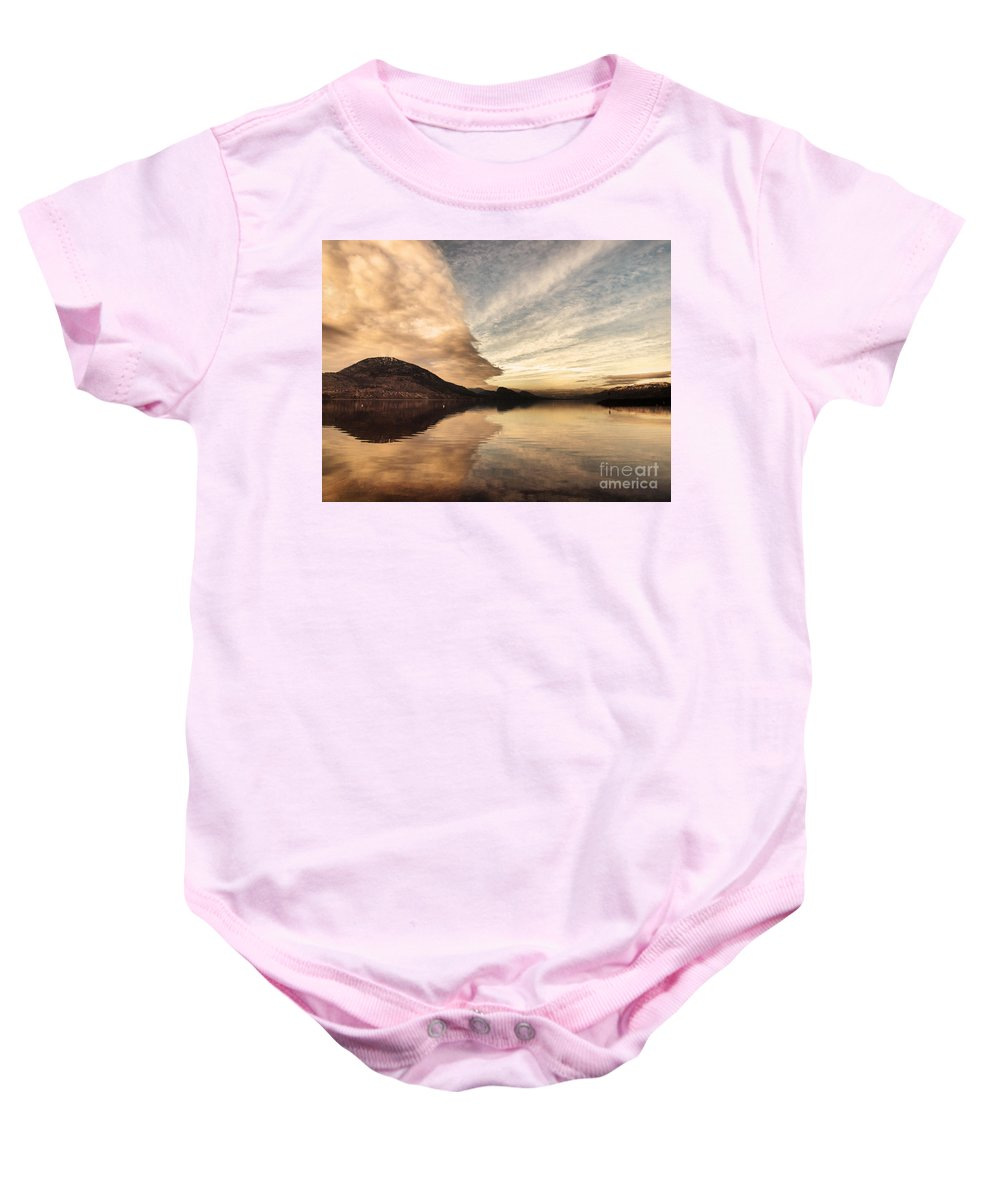 Clouds Baby Onesie featuring the photograph January 27 2010 by Tara Turner