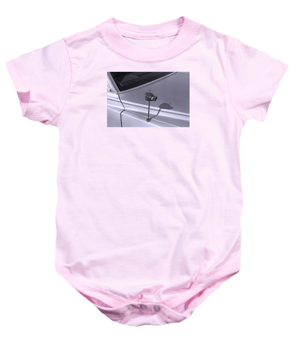 Primitive Baby Onesie featuring the photograph Modern Primitive by Ted M Tubbs