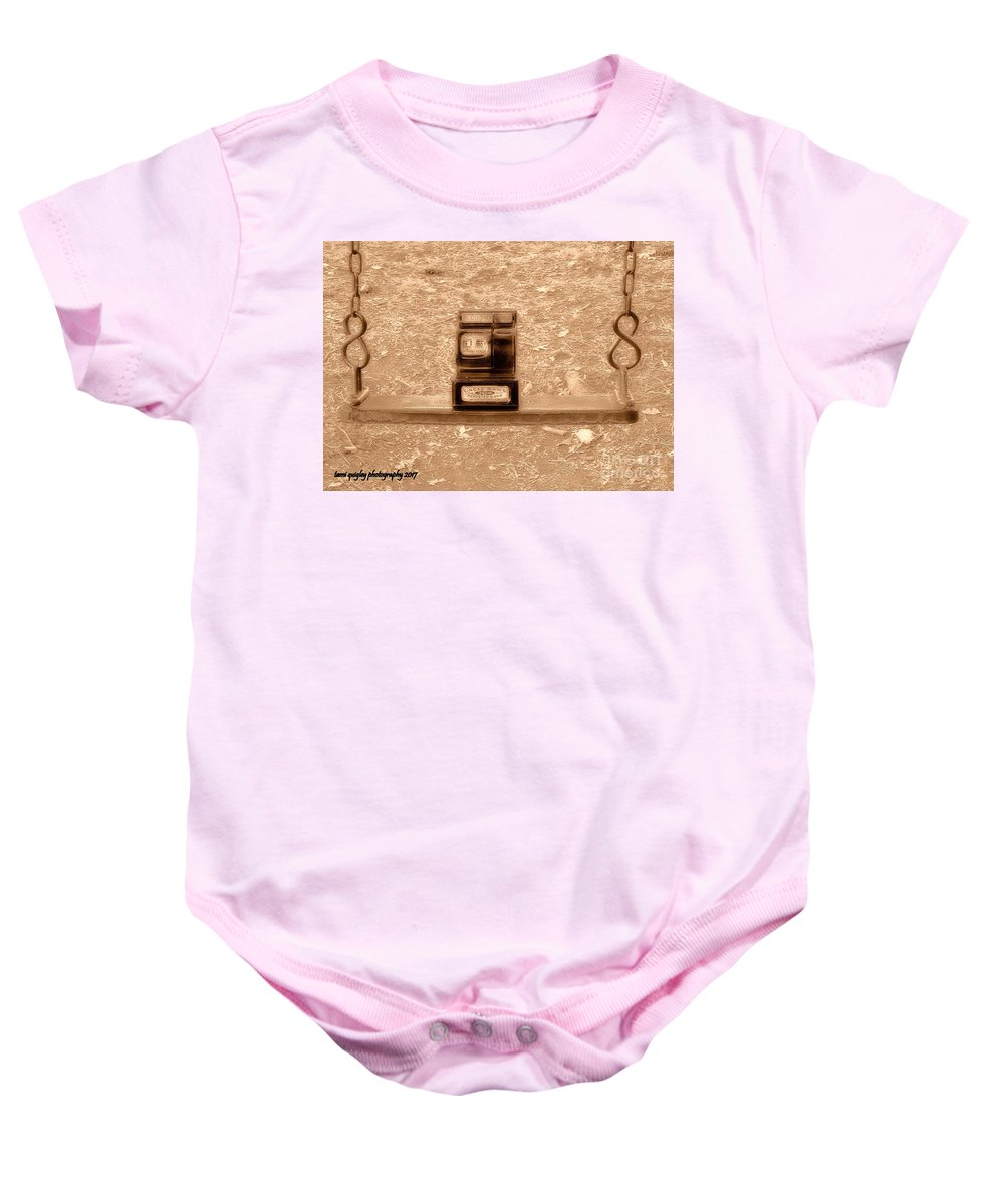 Nostalgic Baby Onesie featuring the photograph Nostalgic Change by Tami Quigley
