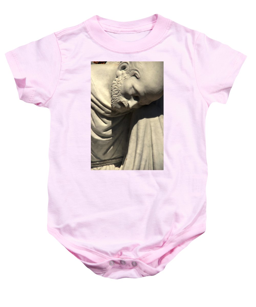 Saint Peter Baby Onesie featuring the photograph Petrus Or Saint Peter by Susanne Van Hulst