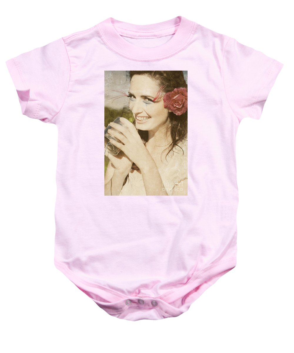 Woman Baby Onesie featuring the photograph Retro Fun by Jorgo Photography - Wall Art Gallery