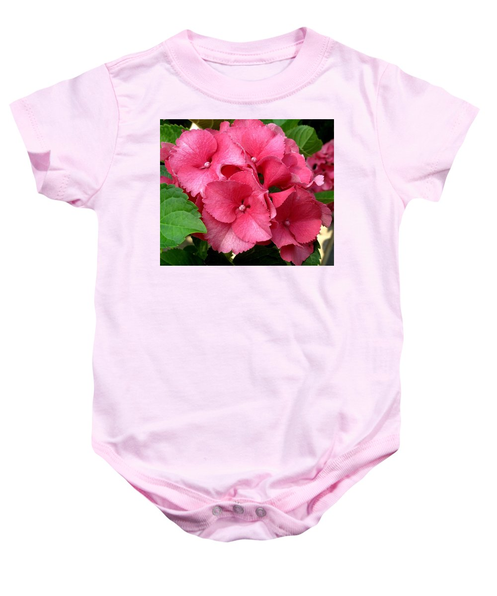 Pink Baby Onesie featuring the photograph Rich Pink by Ian MacDonald