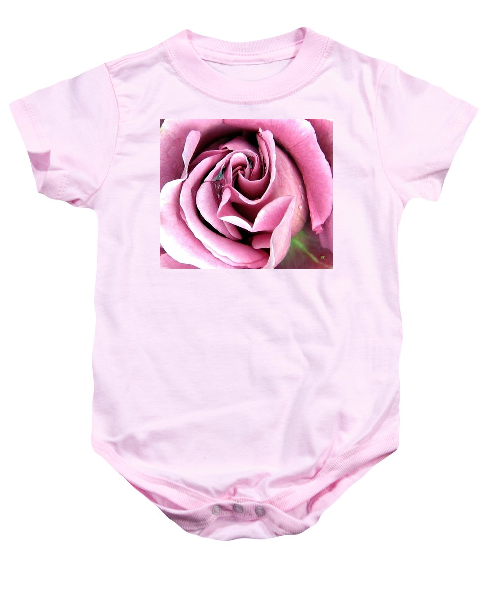 Romantic Baby Onesie featuring the photograph Roses Roses by Will Borden