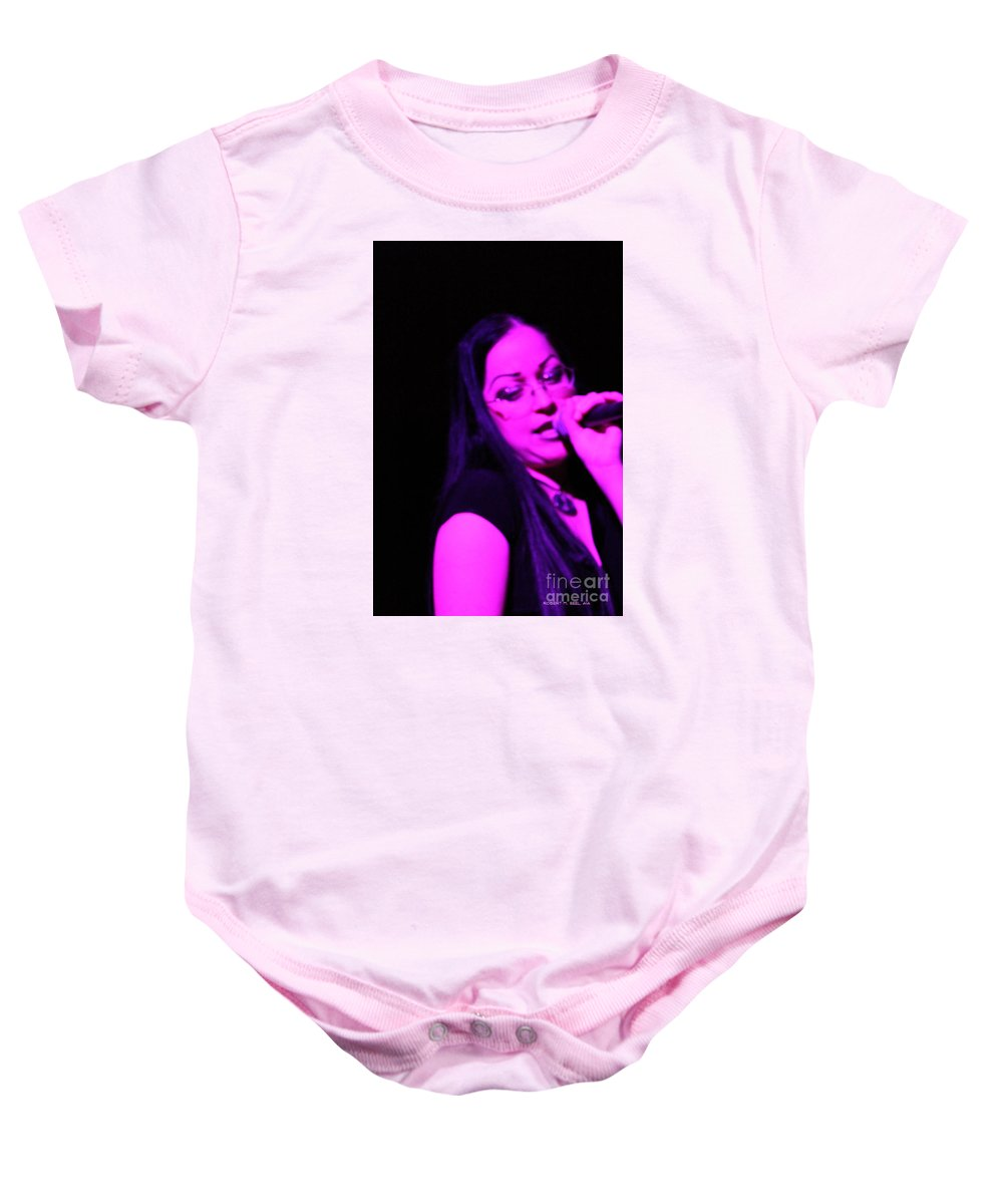Rob Seel Baby Onesie featuring the photograph Sarah's Secret by Robert M Seel