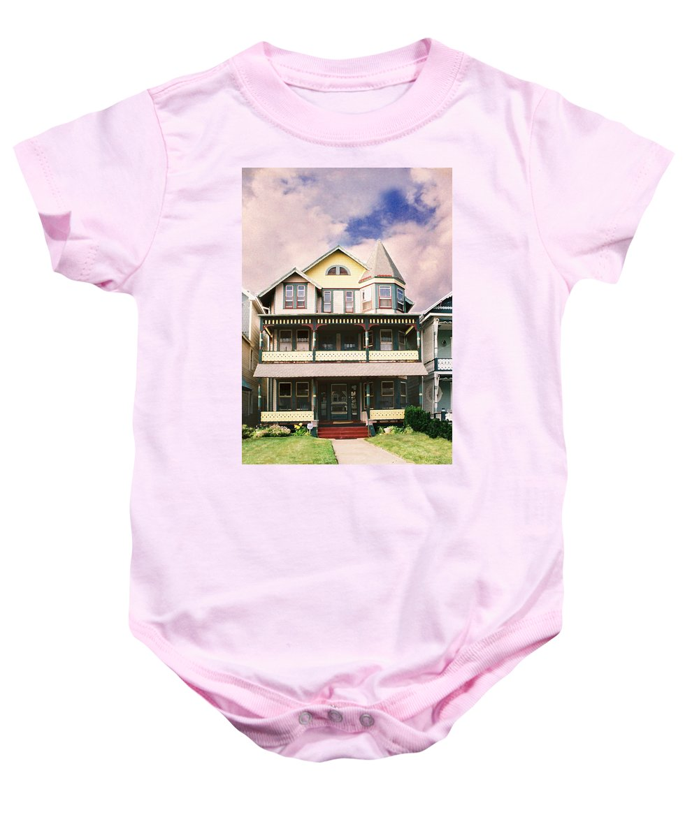 Landscape Baby Onesie featuring the photograph Sisters Panel Three Of Triptych by Steve Karol