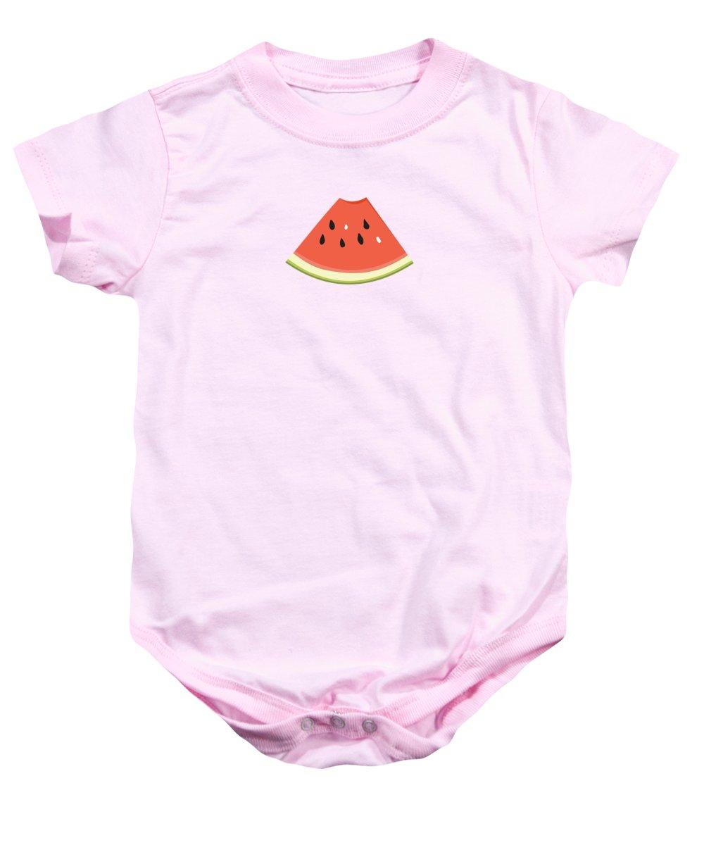 Watermelon Baby Onesies