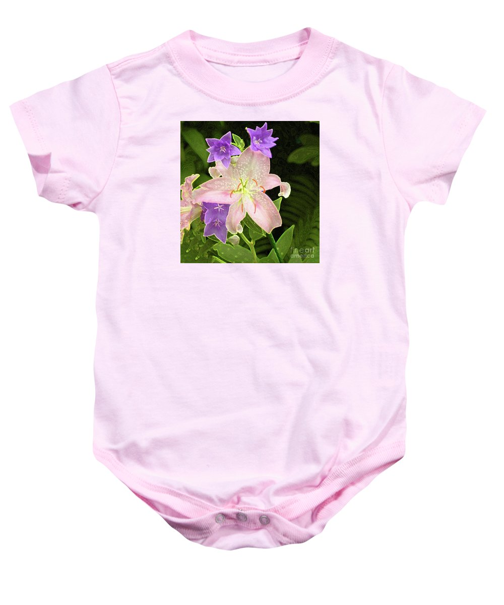 #flower #day Baby Onesie featuring the photograph Summer Flowers by Kathleen Struckle