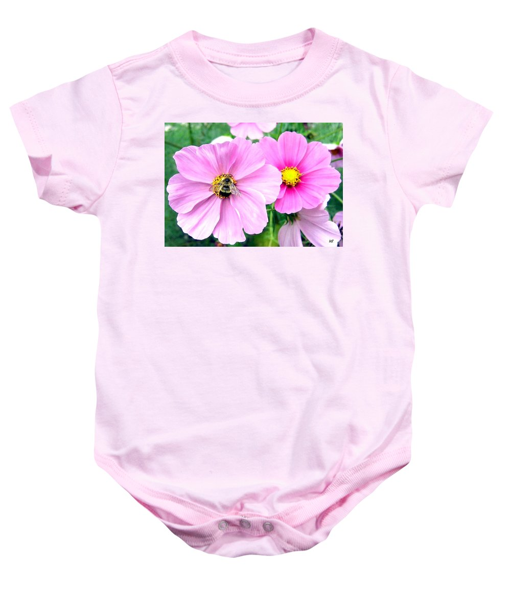 Bee Baby Onesie featuring the photograph The Honeymaker by Will Borden