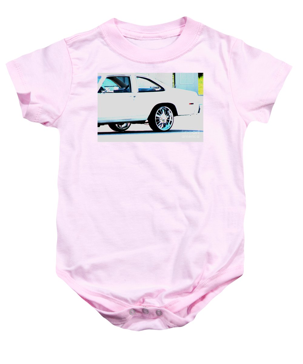 Car Baby Onesie featuring the photograph The Ride by Amanda Barcon