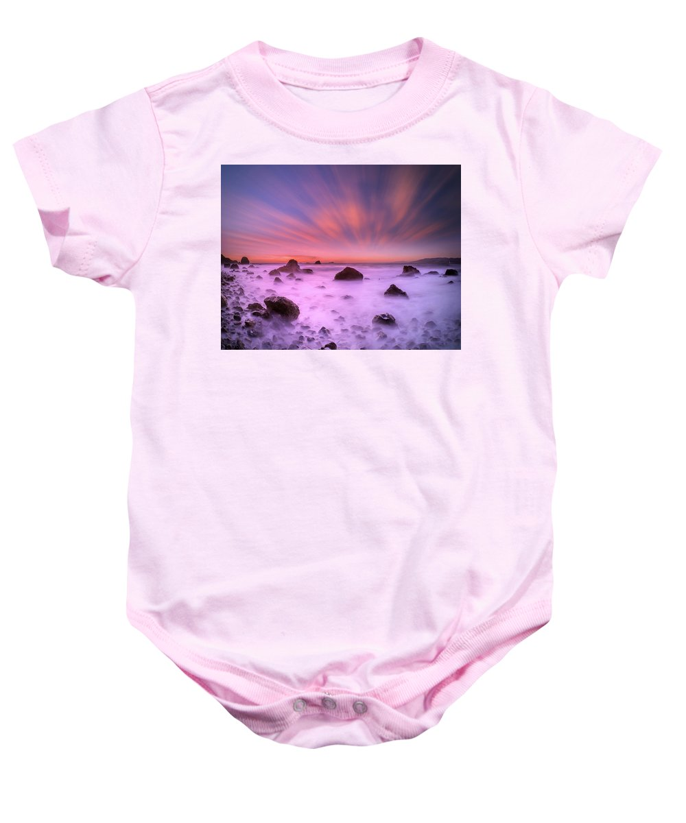 California Baby Onesie featuring the photograph Thousand Rocks by William Freebilly photography
