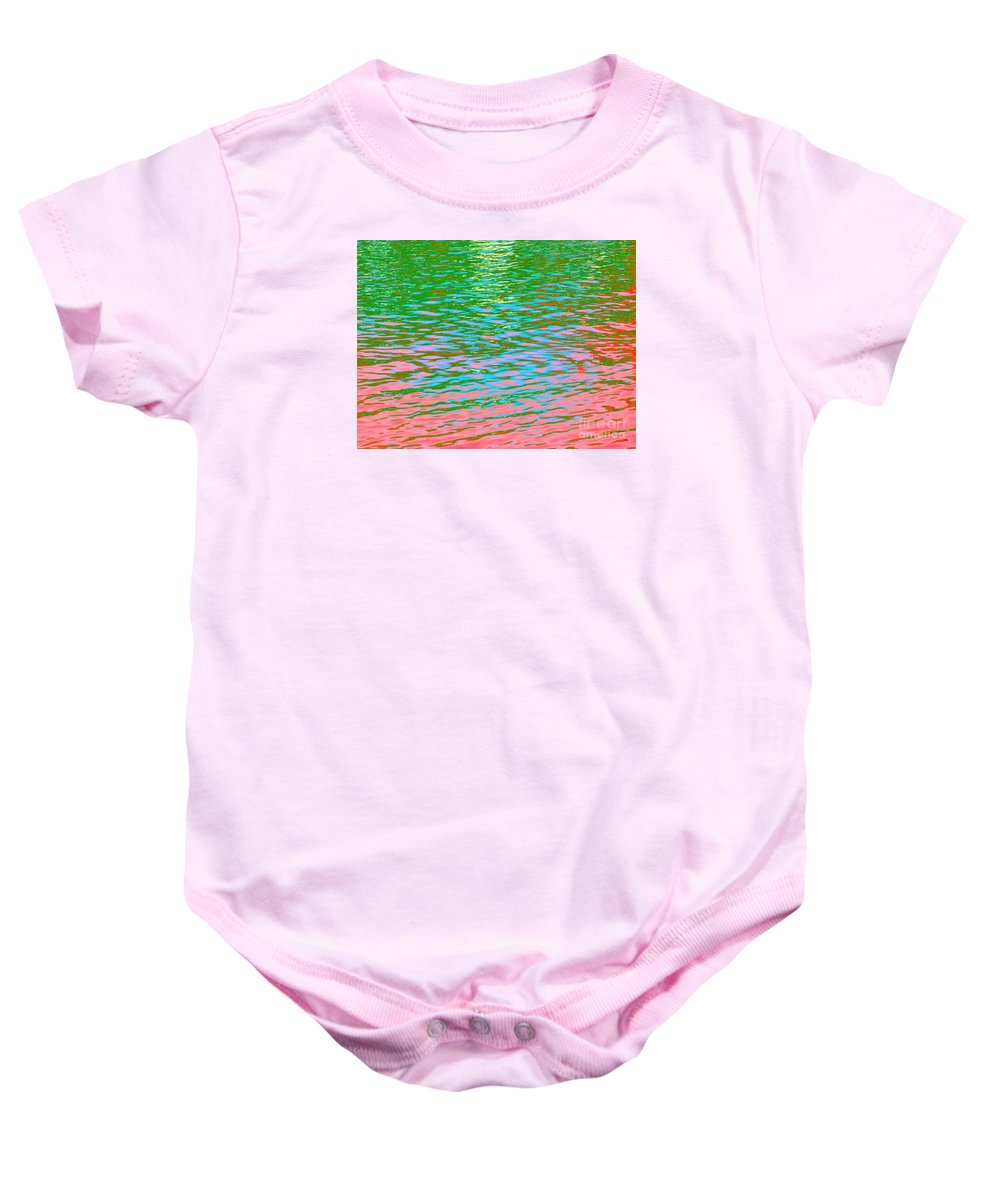 Angels Baby Onesie featuring the photograph Vision Of The Beauty From Angels by Sybil Staples