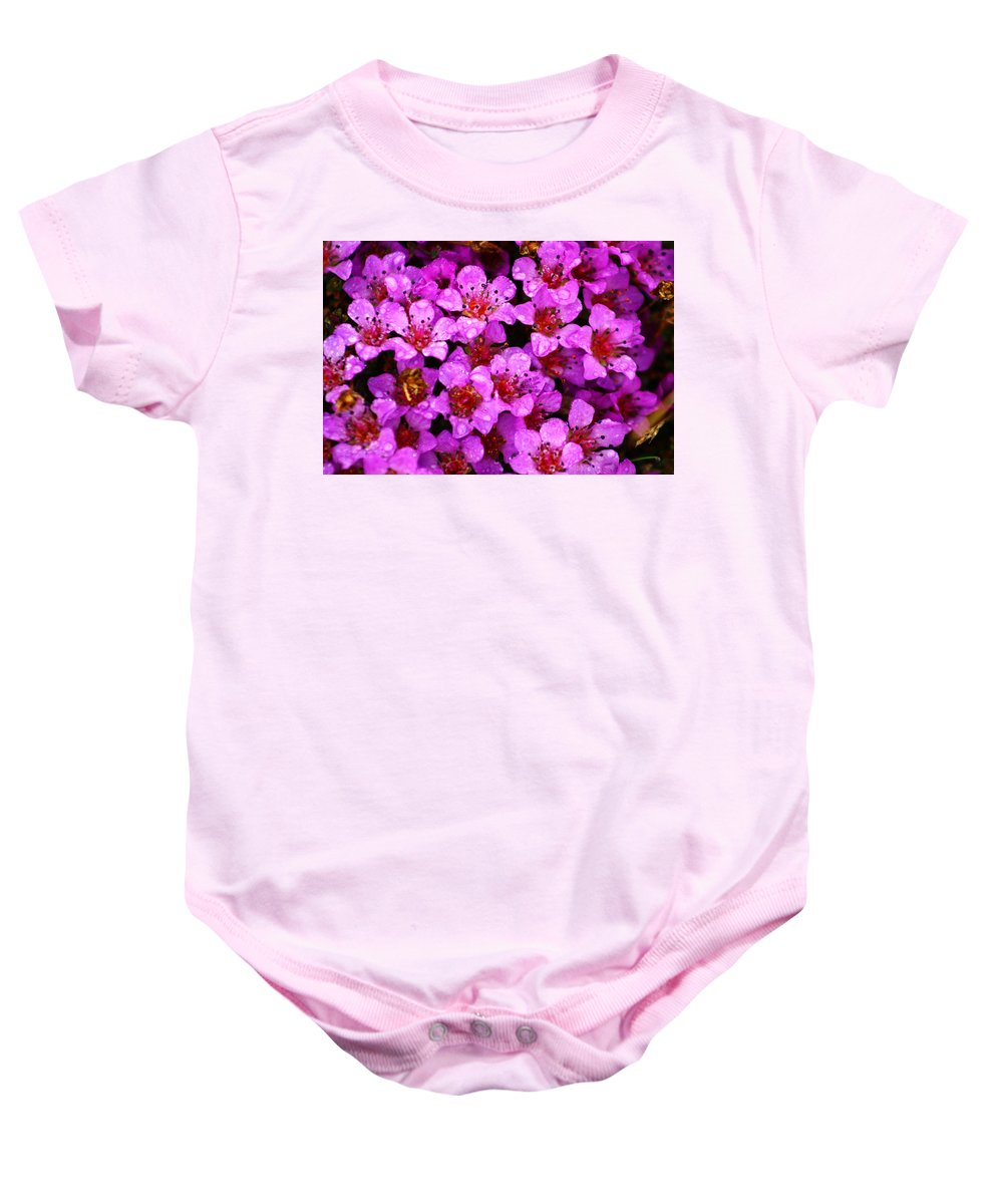 Wild Flowers Baby Onesie featuring the photograph Wildflowers by Anthony Jones