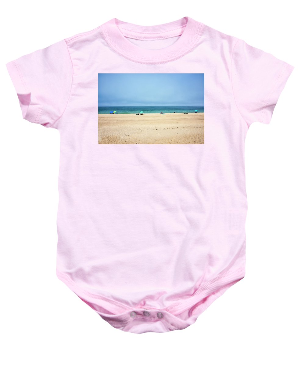 Ballston Beach Baby Onesie featuring the photograph Ballston Beach - Truro Massachusetts by Brendan Reals