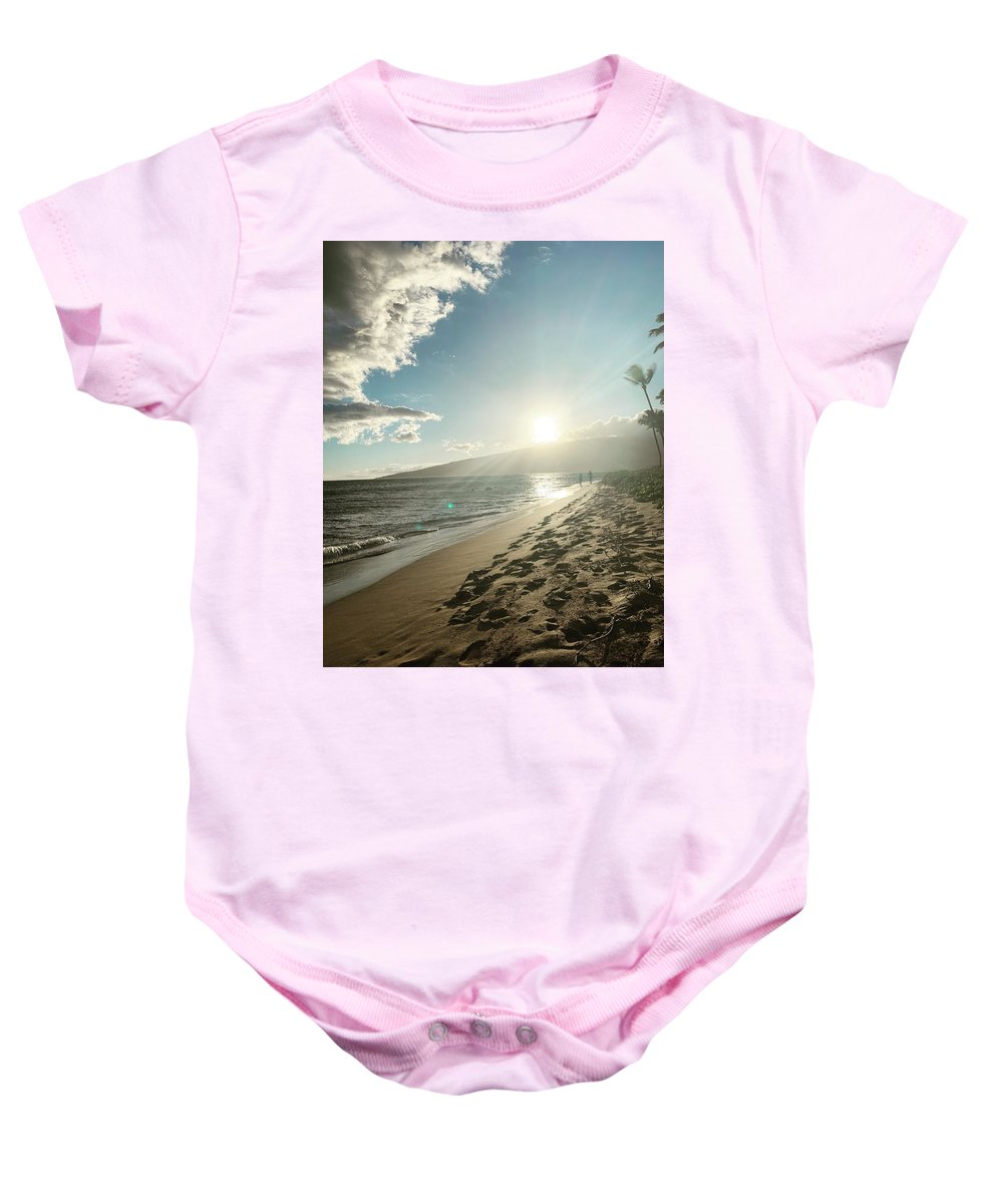 Hawaii Baby Onesie featuring the photograph Maui by Kristin Rogers