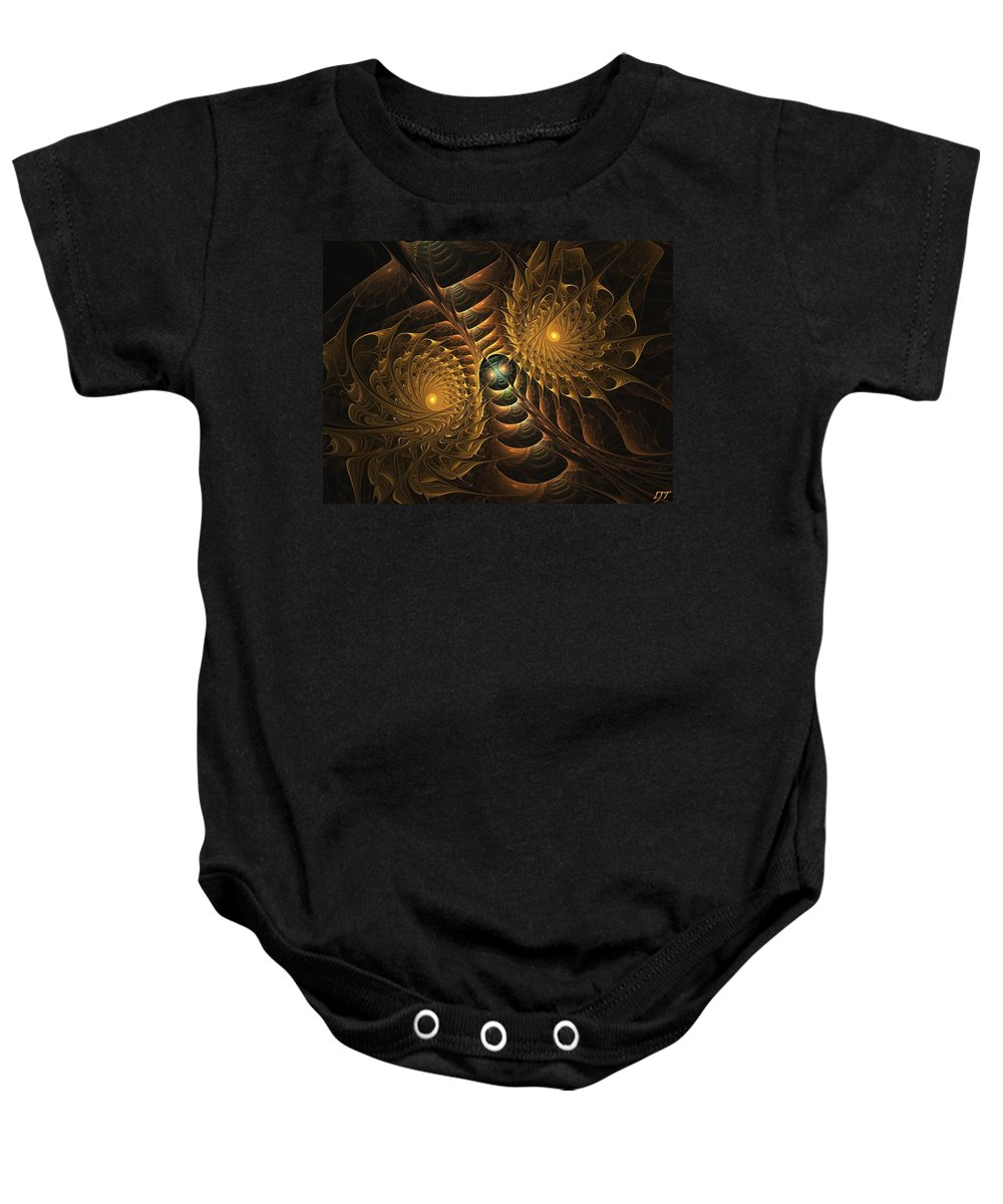 Still Life Baby Onesie featuring the painting 0005 by I J T Son Of Jesus