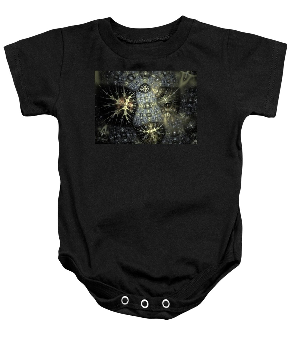 Still Life Baby Onesie featuring the painting 0039 by I J T Son Of Jesus