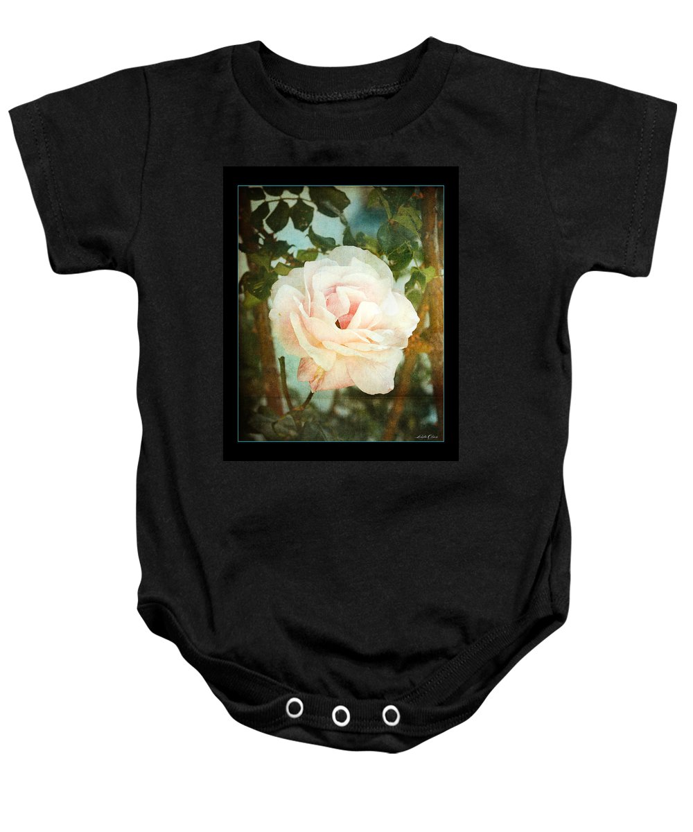 Garden Baby Onesie featuring the photograph A Rose Is A Rose by Linda Olsen