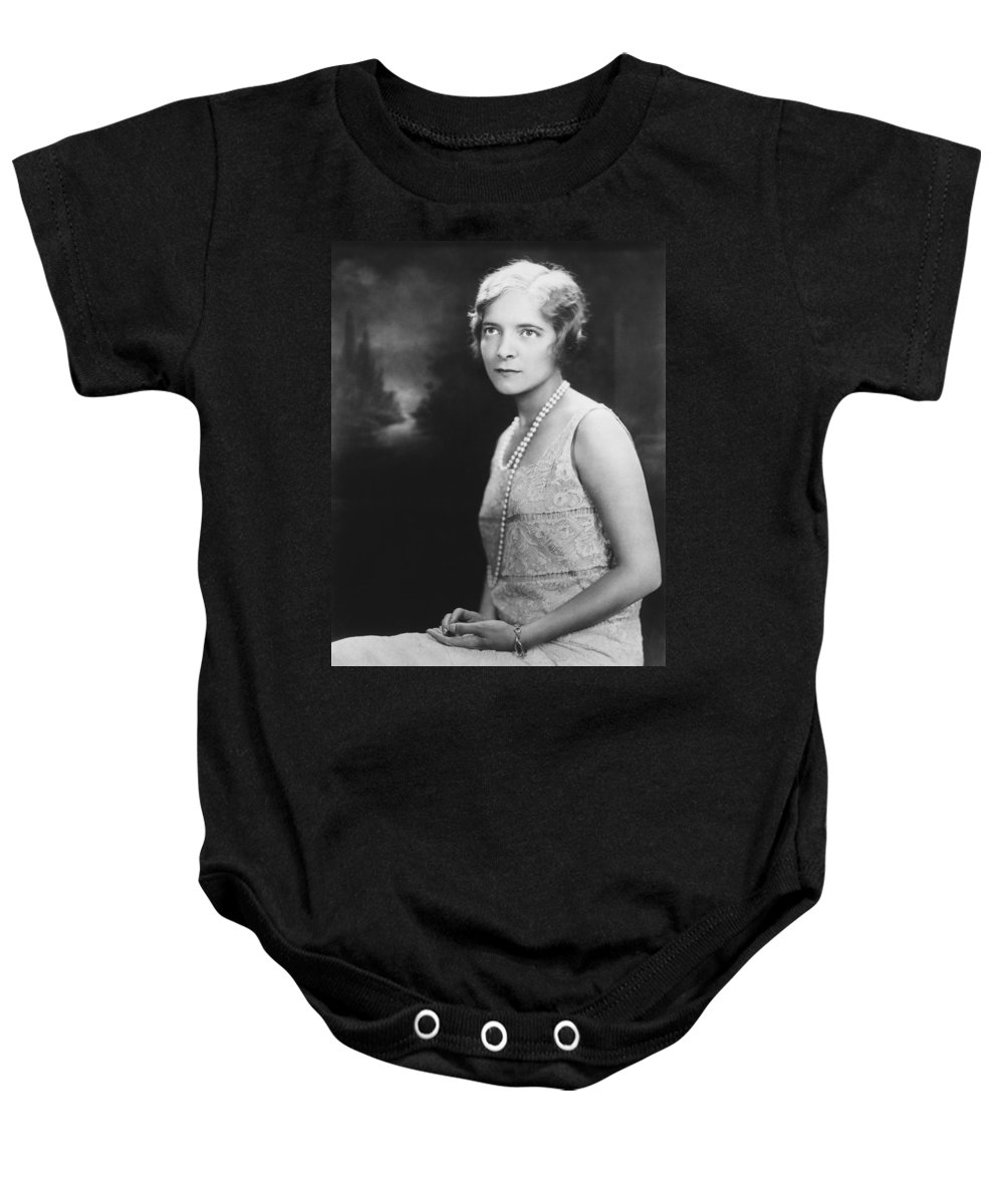 1928 Baby Onesie featuring the photograph Actress Helen Hayes by Underwood Archives