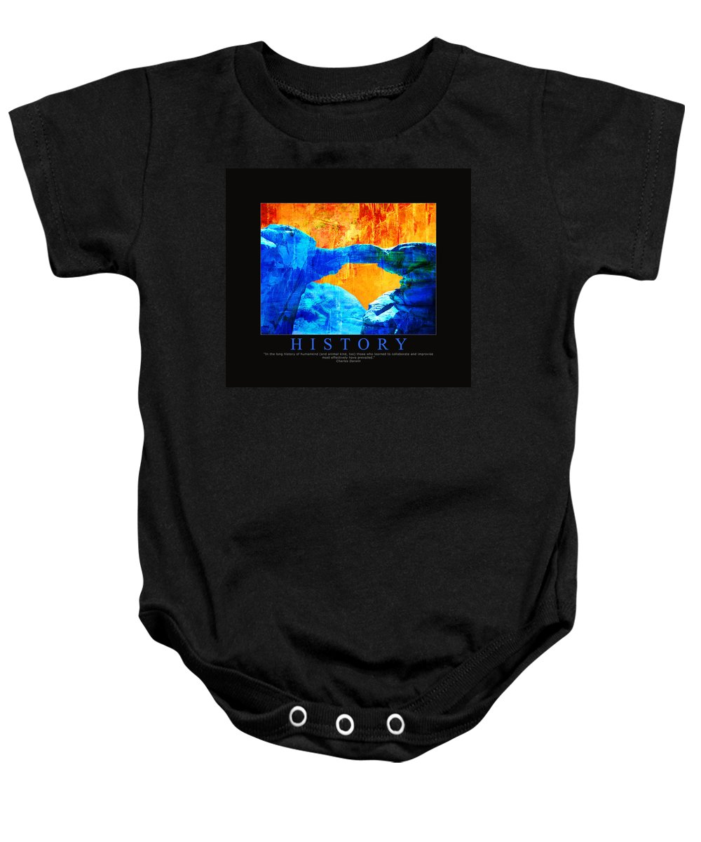 Baby Onesie featuring the painting Corporate Art 009 by Catf