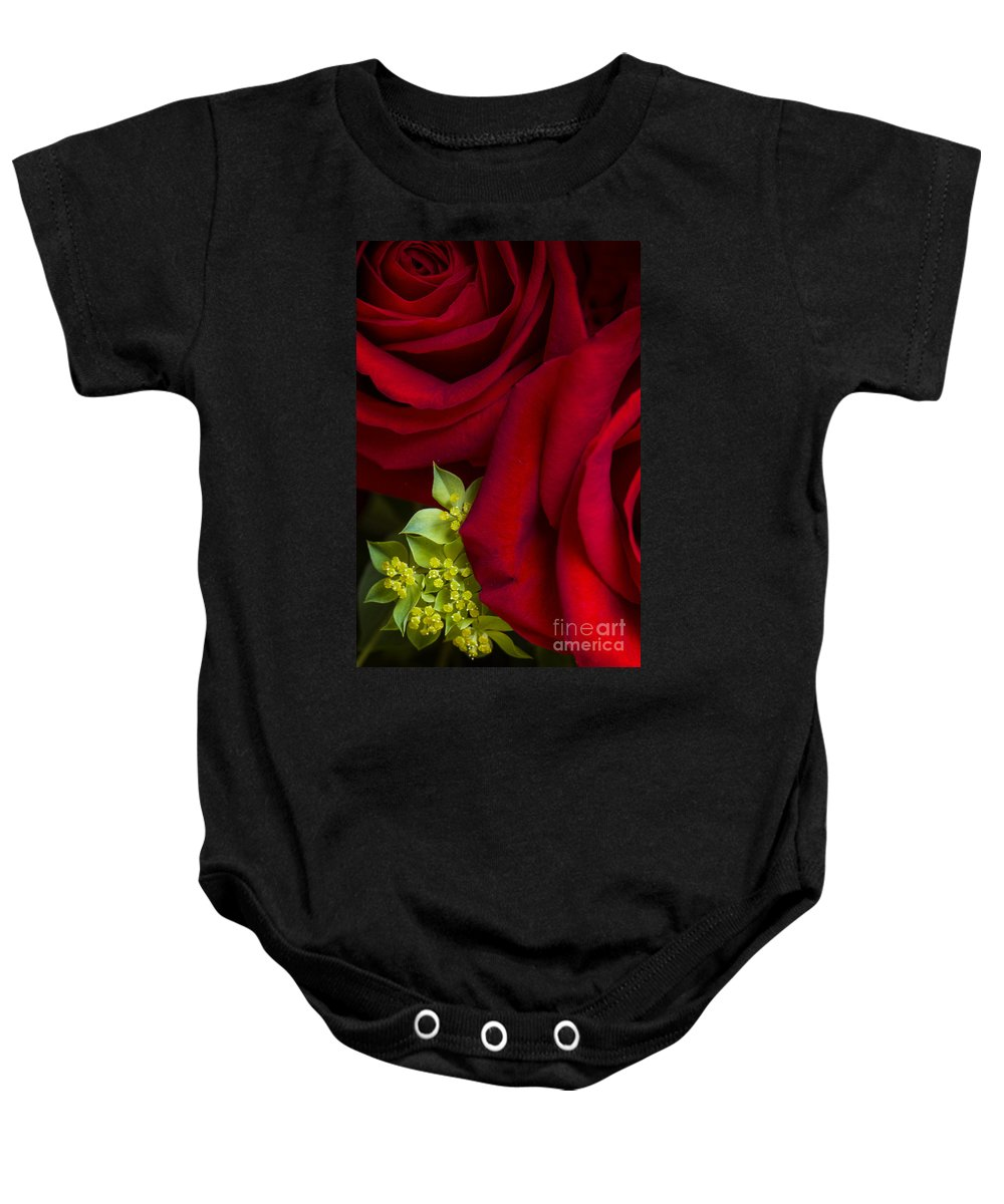 Red Baby Onesie featuring the photograph Family by Margie Hurwich