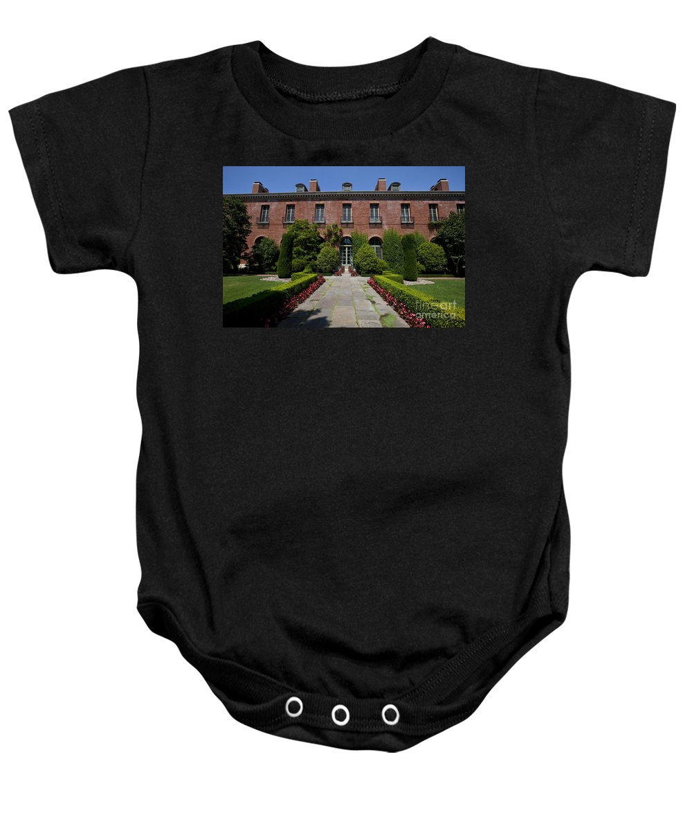 Filoli Baby Onesie featuring the photograph Filoli by Jason O Watson