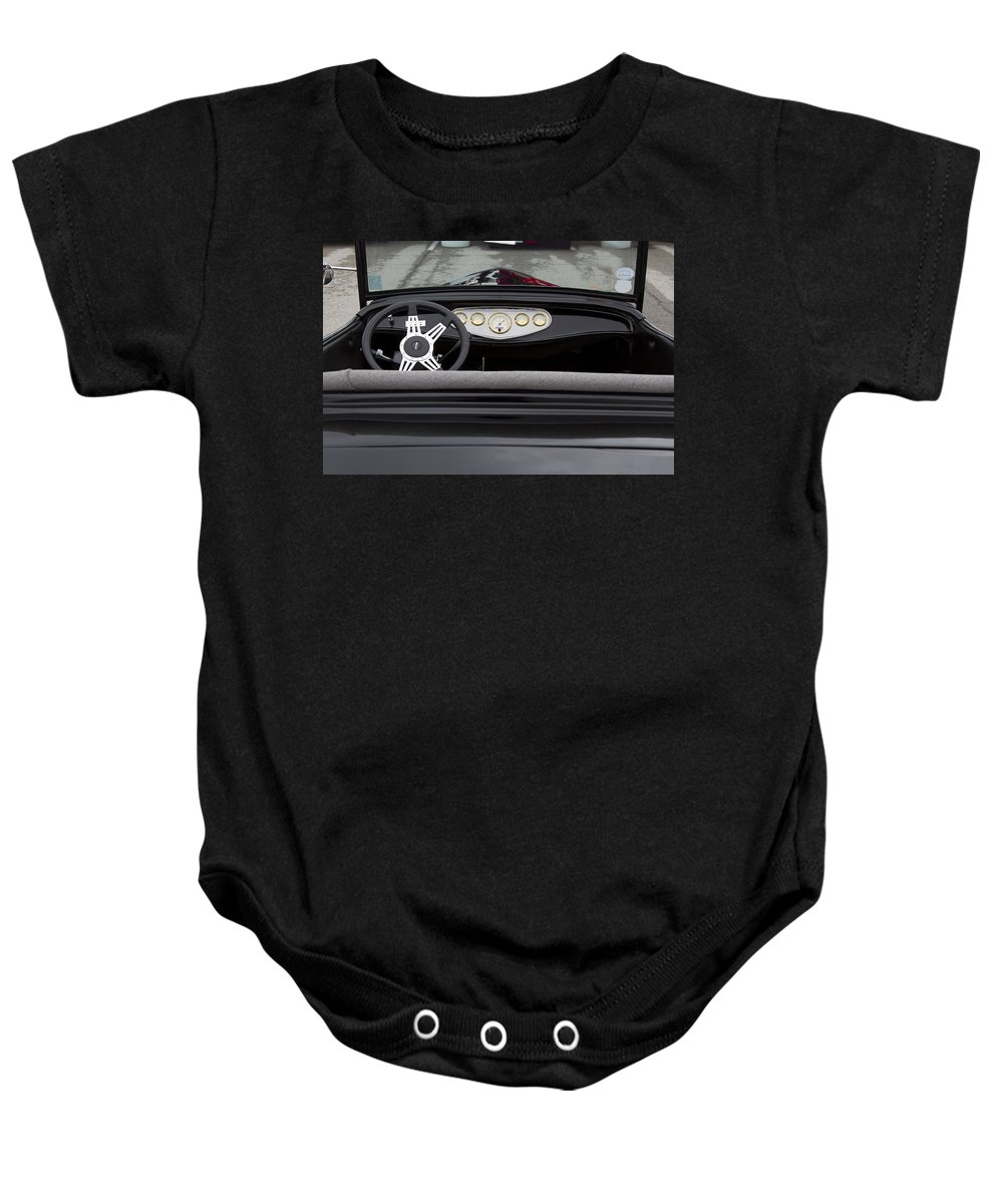 American Baby Onesie featuring the photograph Lets Go by Jack R Perry