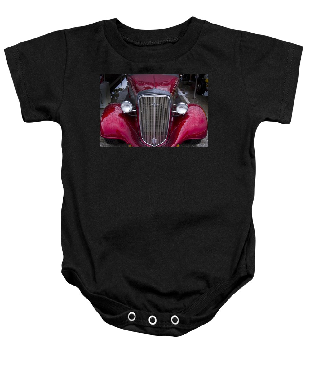American Baby Onesie featuring the photograph Love Red by Jack R Perry