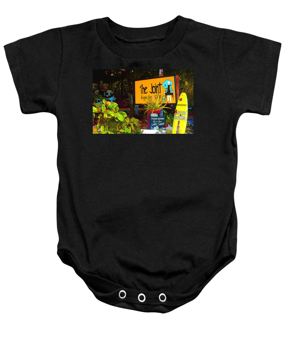 Keri West. K West Studio Baby Onesie featuring the photograph The Joint by Keri West